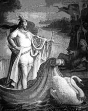 """""""… e solo nella costellazione del cigno ritroverà in eterno l'archetipo degli indoeuropei"""""""