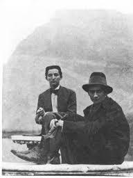 Franz Kafka e Otto Brod, 1909