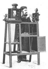 Il cinematografo Lumière, proiezione (1895)