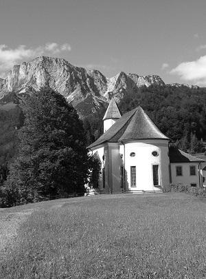 Chiesa di Ettenberg con il tiglio