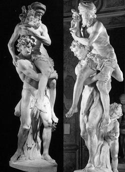 Enea, Anchise e Ascanio. Gian Lorenzo Bernini
