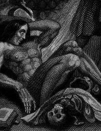 Frankenstein, ed. 1831 (Particolare del Frontespizio)