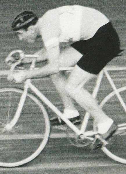 Fiorenzo Magni nel 1942 al Vigorelli