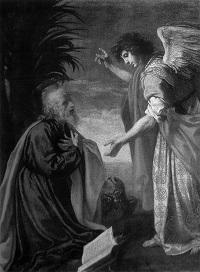 Jacopo Vignali. San Giovanni evangelista a Patmos